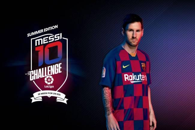 """""""Sé Messi por un día"""""""