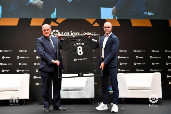 Andrés Iniesta se suma a LaLiga Icons