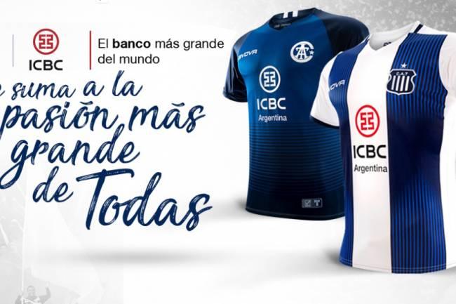 ICBC, nuevo main sponsor de Talleres de Córdoba