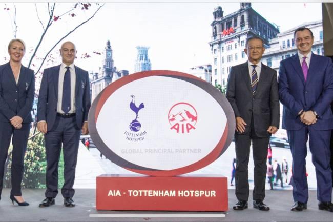 AIA renueva con Tottenham por 360 millones de euros