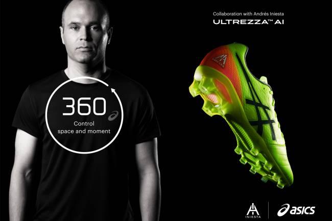 Asics revela los nuevos botines diseñados junto a Andrés Iniesta