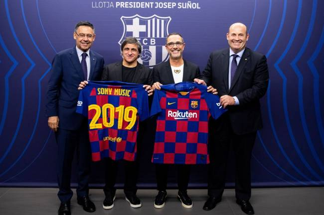 FC Barcelona se une a Sony Music