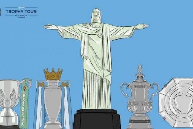 "Manchester City ""Trophy Tour"" desembarca en Brasil"