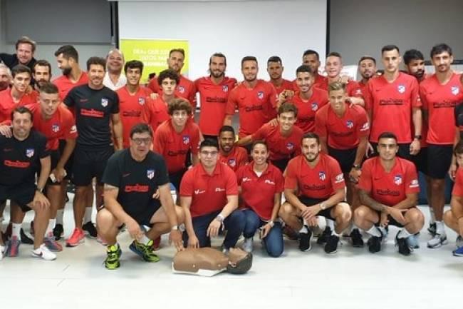 Atlético de Madrid se une al Proyecto Salvavidas