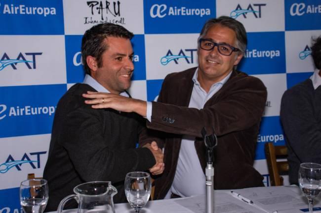 La AAT firma un convenio de colaboración con Air Europa