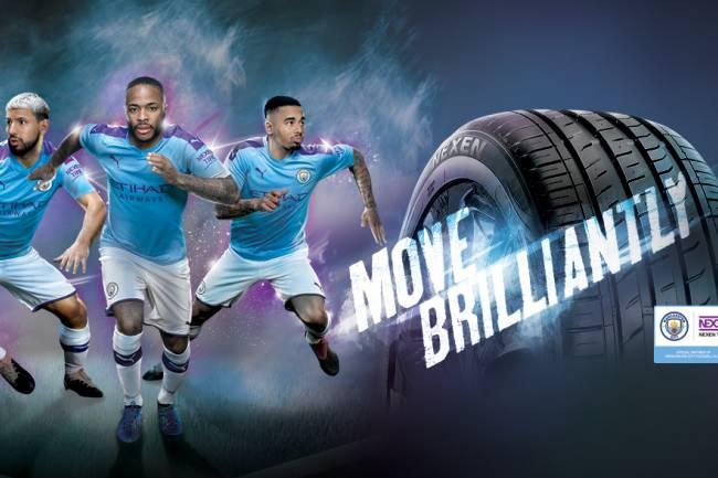 Nexen Tire extiende su patrocinio con Manchester City