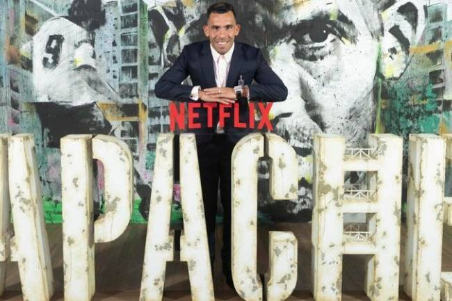"Netflix presentó ""Apache"", la serie inspirada en la vida de Carlos Tévez"
