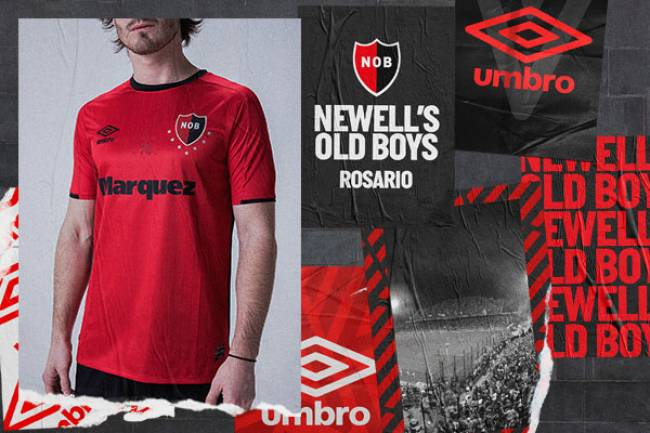 Umbro Argentina lanza la camiseta alternativa de Newell´s Old Boys