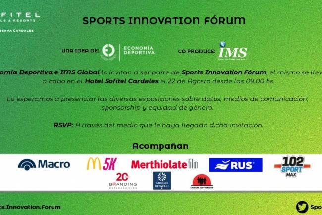 Economía Deportiva presenta un nuevo Sports Innovation Fórum