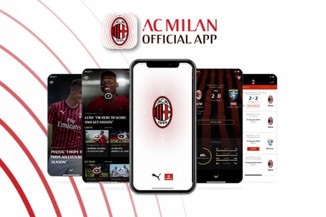AC Milan presenta su nueva App