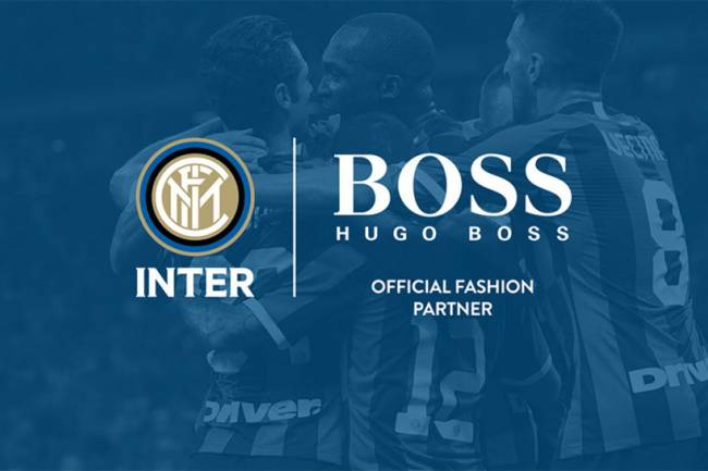 Hugo Boss se une a Inter