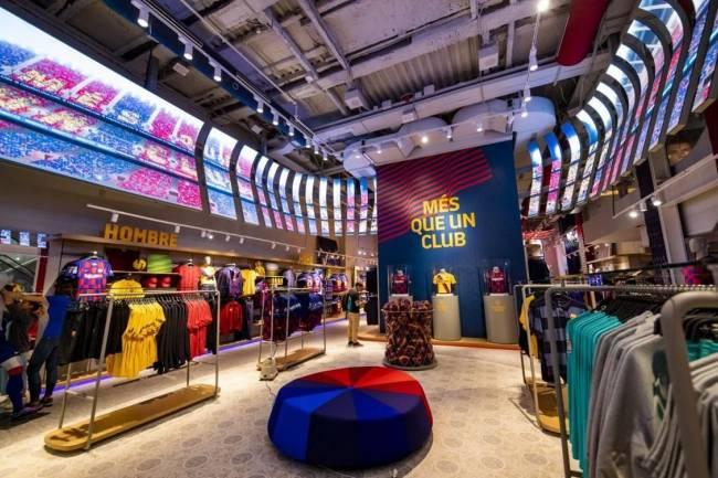 Barcelona abrió su quinta tienda oficial administrada íntegramente por el club