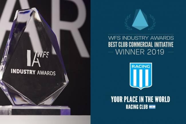 Racing fue galardonado en los Industry Awards