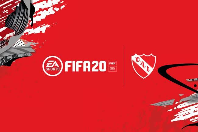 EA Sports, nuevo sponsor oficial de Independiente