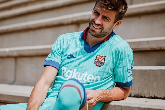 FC Barcelona presenta su tercera camiseta