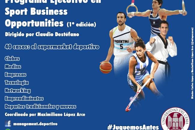 Comienza el Programa Ejecutivo en Sport Business Opportunities UCEMA