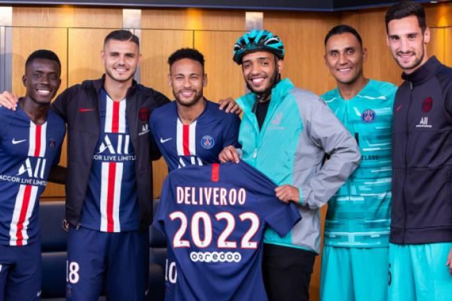 Deliveroo llega al Paris Saint Germain como socio Premium