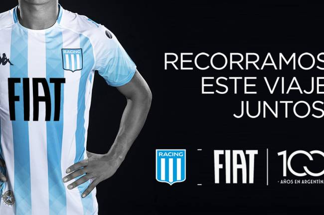 FIAT expande su patrocinio con Racing Club