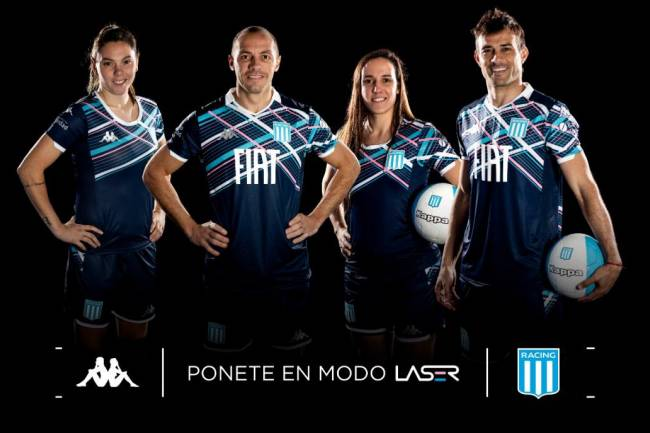 Kappa lanza la nueva camiseta alternativa de Racing
