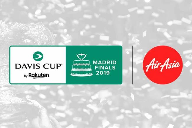 AirAsia patrocinará las finales de la Copa Davis