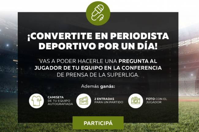 Banco Comafi activa su patrocinio con Superliga
