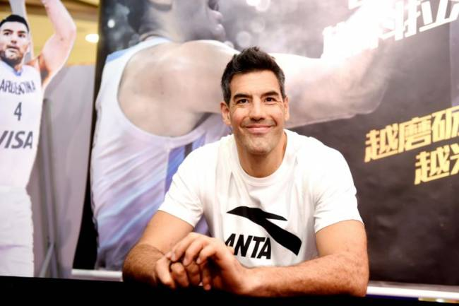 Luis Scola dejó su sello en China junto a Anta Sports