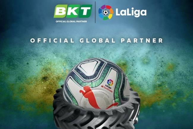 BKT se convierte en patrocinador de LaLiga