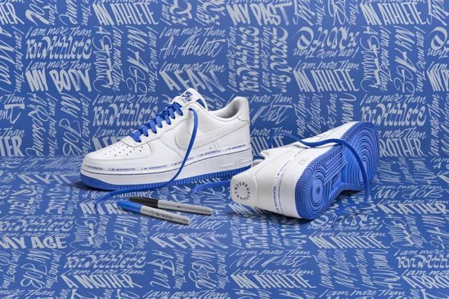 Nike y LeBron James lanzan una edición limitada de las Air Force 1