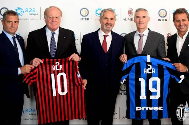Milan e Inter se unen para sumar un nuevo patrocinador
