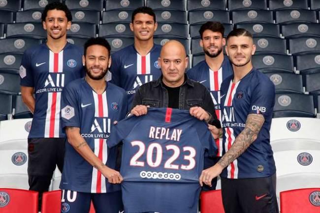 Replay se convierte en socio oficial de Paris Saint Germain