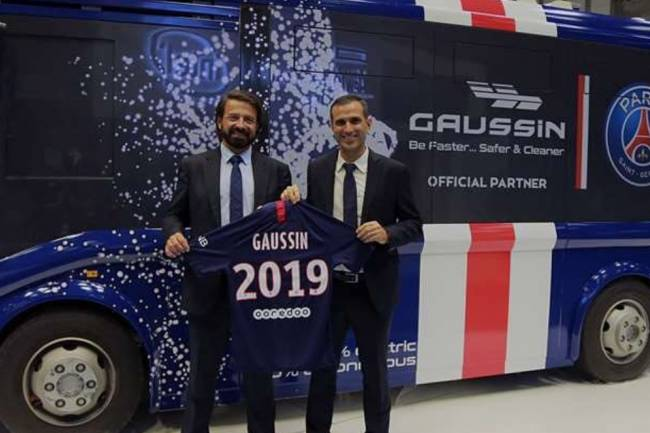 Los jugadores de París Saint-Germain se trasladarán en vehículos sustentables