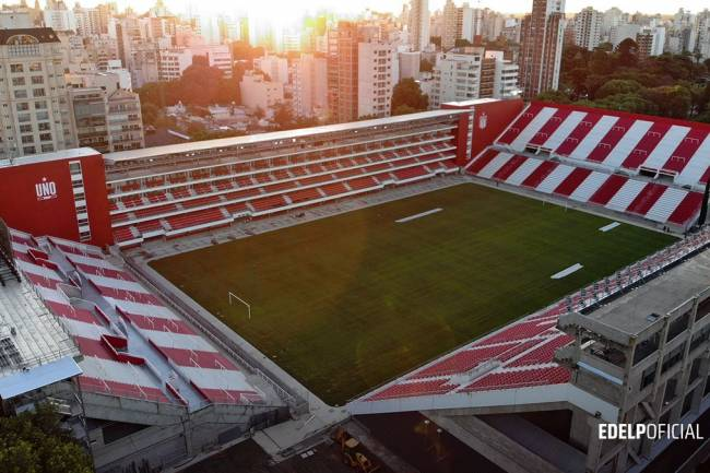 El nuevo Estadio de Estudiantes será el primero 100% digital del país