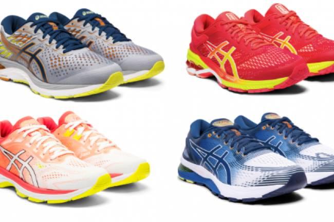ASICS reinventó sus icónicos modelos de zapatillas de running
