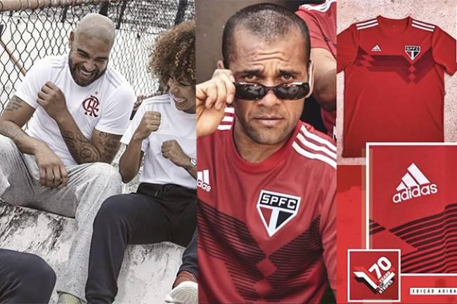 """Flamengo y São Paulo se unen a la campaña """"70 Years Of Stripes"""" de Adidas"""