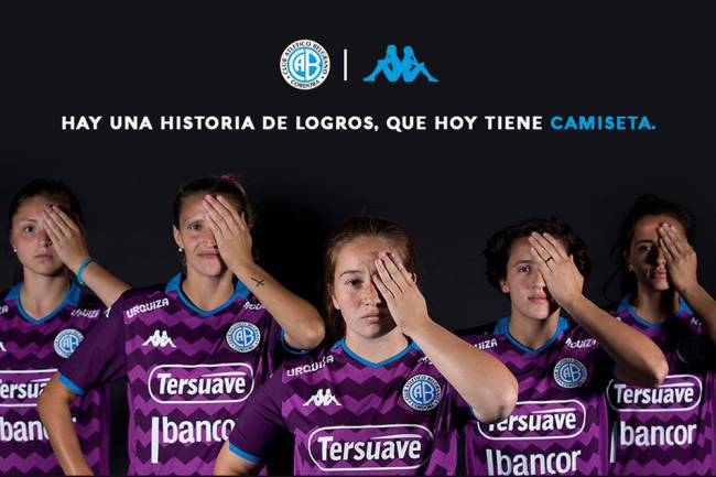 Kappa presenta la camiseta exclusiva para el fútbol femenino de Belgrano