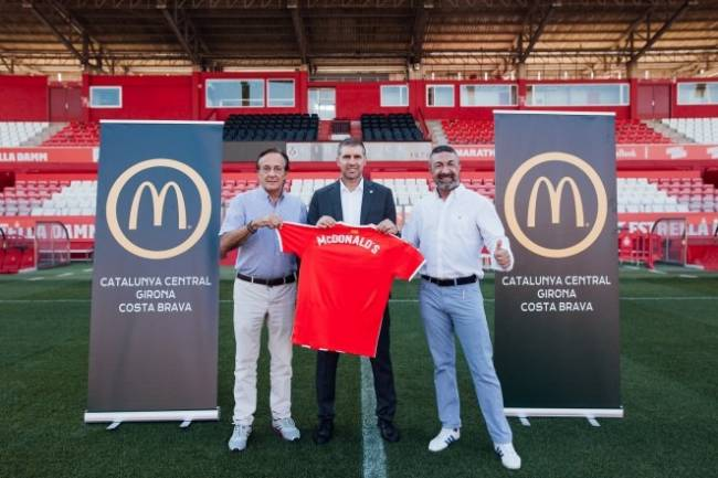McDonald´s, nuevo patrocinador de Girona