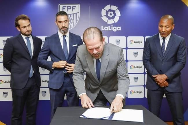 LaLiga firma un acuerdo de colaboración con la Federación Paulista de Fútbol