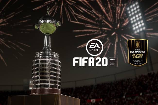 EA Sports anuncia que la CONMEBOL Copa Libertadores estará en el FIFA20