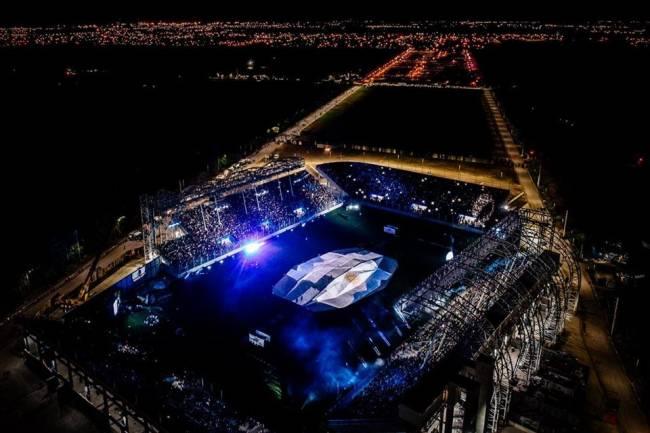 San Nicolás  inaugura el primer estadio Polideportivo 100% LED de Argentina