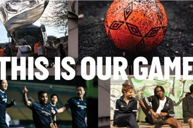 """Umbro lanza su nueva campaña global """"This is Our Game"""" (Este es nuestro juego)"""