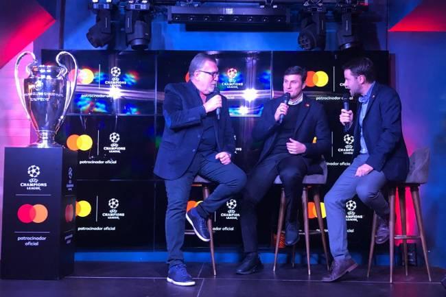 """Priceless Moment con Zanetti y la """"orejona"""""""
