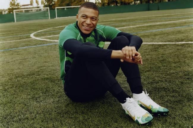 Nike presenta la primera línea exclusiva de Kilyan Mbappé