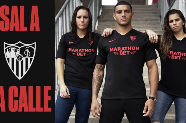 Nike lanza la primera camiseta de edición limitada de Sevilla