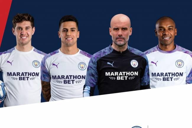 Marathonbet patrocinará los entrenamientos de Manchester City