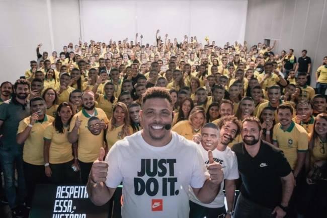Nike y Ronaldo celebraron sus 25 años de vínculo
