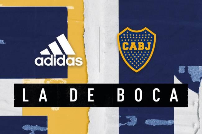 Adidas vuelve a Boca Juniors