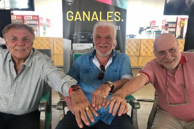"""Basile, Merlo y Pagani presentaron """"Caballeros del Fútbol"""""""