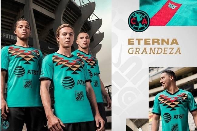 Nike presentó la nueva camiseta alternativa de Club América