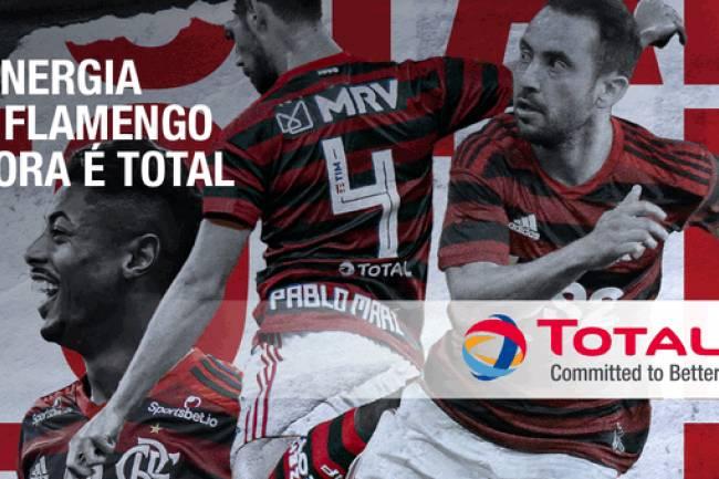 Flamengo presentó a Total como nuevo sponsor
