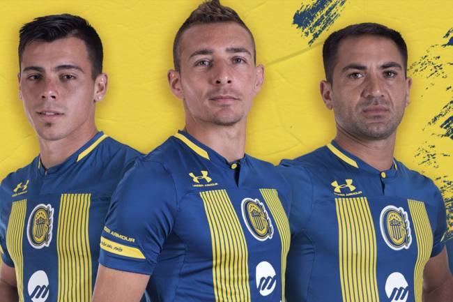 Under Armour lanza la nueva camiseta de Rosario Central